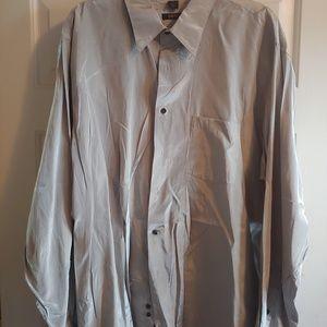 Men's DKNY Sateen Button-down Shirt XXL